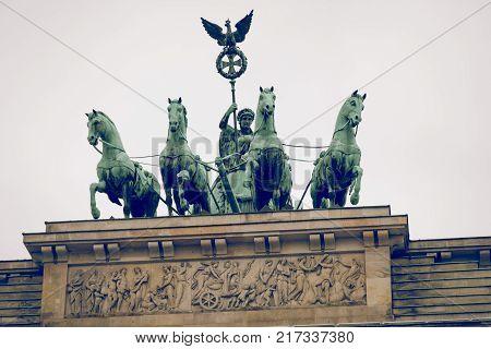 Berlin Brandenburg Gate (brandenburger Tor), Berlin, Germany