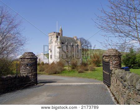 Leslie Castle Aberdeenshire Scotland