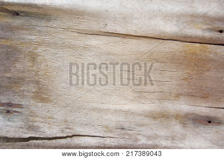 Vintage painted wooden texture. White horizontal background of wood. Laminboard, plywood, old brown paper poster