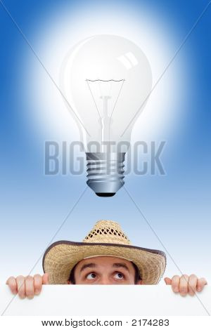 Man Having An Idea