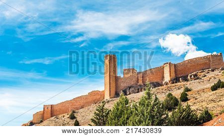 The Castillo De Molina De Aragon Is A Castle Of Moorish Origin Located In Guadalajara Province Spain