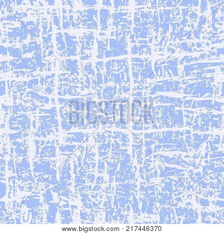 Abstract grunge background in light blue color. Seamless pattern. Grunge pattern. The image can be used to create a tree texture, abstract background, winter background, grunge paper. Vector EPS 10.