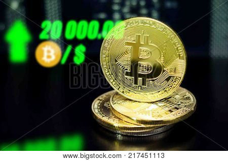 Bitcoin. New probable market bitcoin price record - twenty thousand (20 000) US dollars ($)