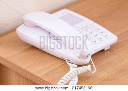 Telephone close up