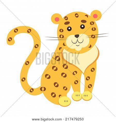 cute funny jaguar vector photo free trial bigstock
