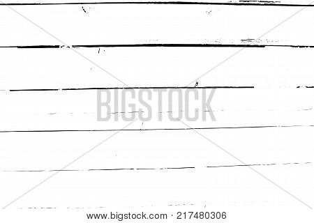 Distressed halftone grunge vector texture - old wood scratch background. Black and white vector illustration for dust overlay, creation abstract vintage effect with noise and grain