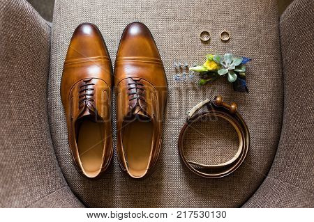 Elegant Stylish Brown Male Accessories