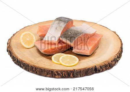 Frozen Salmon Fish Slices