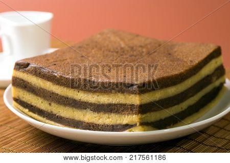Chocolate Or Coffee Layer Cake