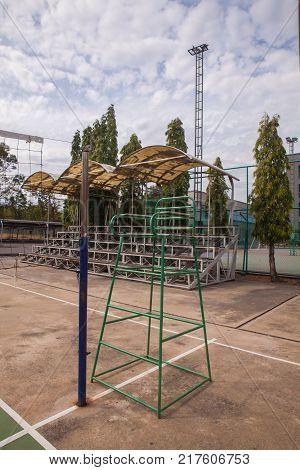 outdoor Rattan ball umpire Chair in thailand