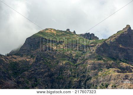 Valley of the Nuns Curral das Freiras on Madeira Island Portugal