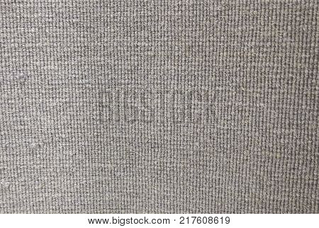 Background Pattern Gray Handicraft Weave Texture of Wicker Doormat with Copy Space for Text Decoration.