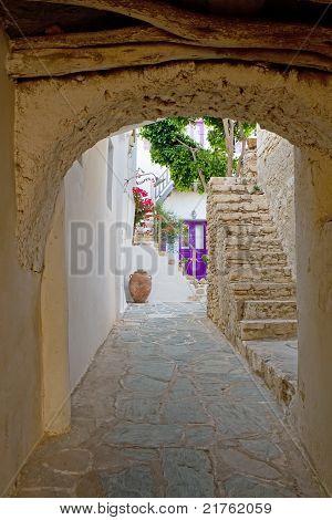 Greek Island Alley