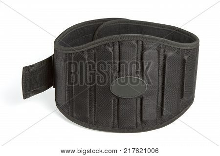 Sports equipment athletic belt weight lifting belt black belt