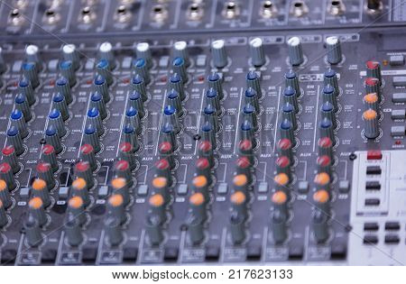 Video Production Switcher Of Television Broadcast