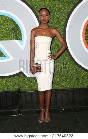 LOS ANGELES - DEC 7:  Ashleigh Murray at the 2017 GQ Men of the Year at the Chateau Marmont on December 7, 2017 in West Hollywood, CA