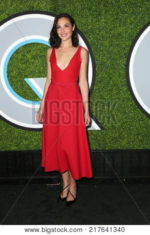 LOS ANGELES - DEC 7:  Gal Gadot at the 2017 GQ Men of the Year at the Chateau Marmont on December 7, 2017 in West Hollywood, CA