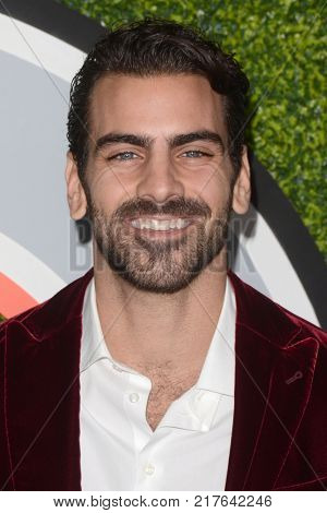 LOS ANGELES - DEC 7:  Nyle DiMarco at the 2017 GQ Men of the Year at the Chateau Marmont on December 7, 2017 in West Hollywood, CA