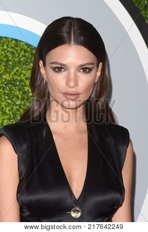 LOS ANGELES - DEC 7:  Emily Ratajkowski at the 2017 GQ Men of the Year at the Chateau Marmont on December 7, 2017 in West Hollywood, CA