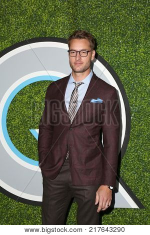 LOS ANGELES - DEC 7:  Justin Hartley at the 2017 GQ Men of the Year at the Chateau Marmont on December 7, 2017 in West Hollywood, CA