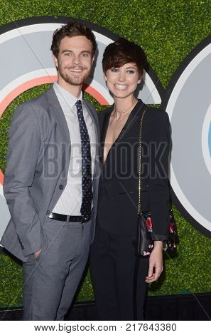 LOS ANGELES - DEC 7:  Jack Quaid, Lizzy McGroder at the 2017 GQ Men of the Year at the Chateau Marmont on December 7, 2017 in West Hollywood, CA