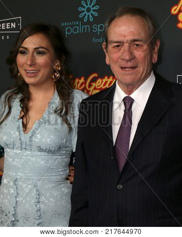 LOS ANGELES - DEC 7:  Victoria Jones, Tommy Lee Jones at the