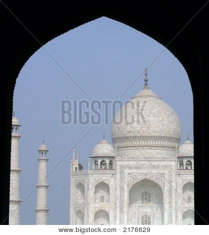 Taj Mahal Entrance