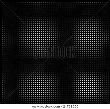 Texture with white points on black background