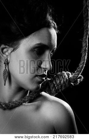 Woman With Noose