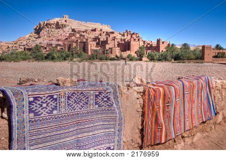 Arabian Carpet And Castle