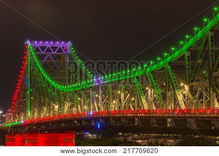 Story Bridge In Brisbane, Queensland