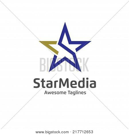 letter s Star color vector logo,Star color icon, star rating, rank. Star astrology symbol. Star icon logotype. Sport star logo. Astronomy star logo
