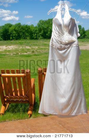 A Brides Gown