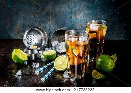 Cuba Libre, Long Island Cocktail