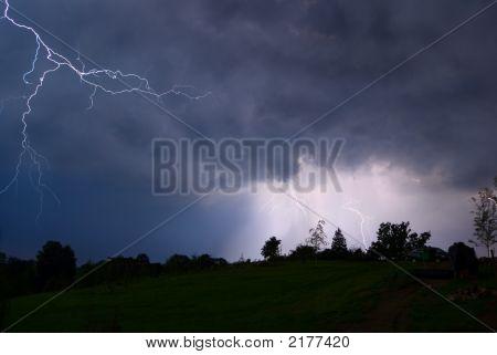 Night Thunderstorm.