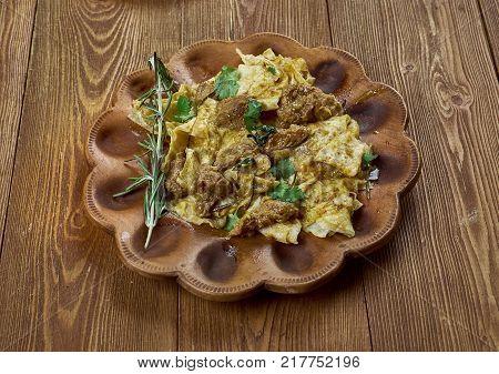 German Dish  Himmel Und Erde