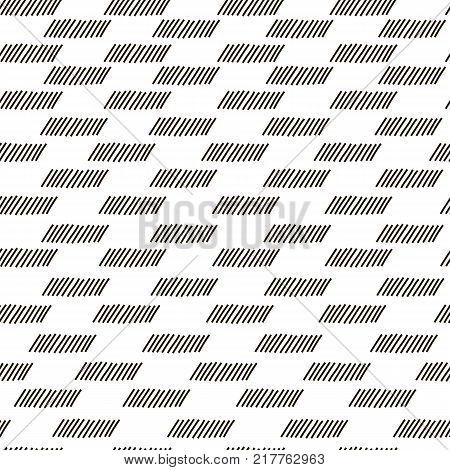 Modern stylish texture with monochrome trellis. Repeating geometric Quadrilateral grid. rhomboids. Vector seamless pattern. Simple graphic design. Trendy sacred geometry. Abstract design print