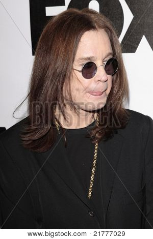 LOS ANGELES - JAN 13: Ozzy Osbourne at the Fox Winter All-Star Party in Los Angeles, California on January 13, 2009