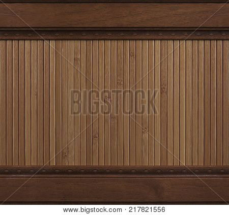 Brown red seamless walnut wooden furniture panel background. Seamless walnut wood texture pattern. Furniture wall decoration element seamless furniture walnut wood decorative panel wooden wands table