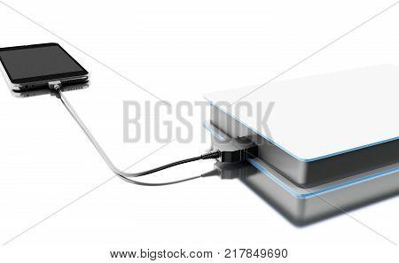 3D Portable External Hard Disk Drive