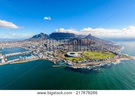 Aerial Photo Of Cape Town