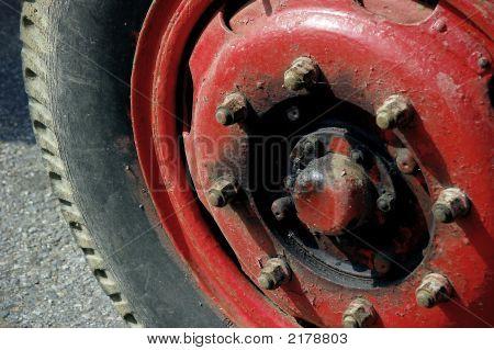 Old Truck Wheel
