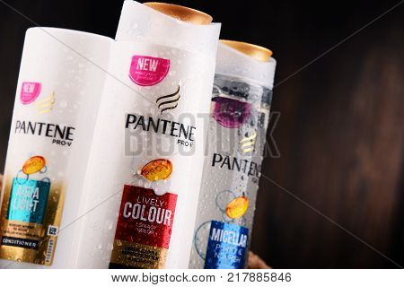 Containers Of Pantene Products