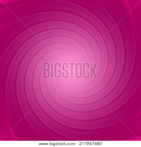 Delicate swirl on a pink curvy background