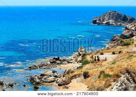 Capo Murro Di Porco, Syracuse, Sicily, Italy