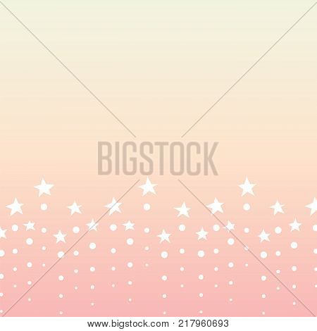 star dot line abstract background,  twinkle bottom line template, vector illustration