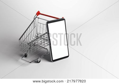Online Shopping And Communication Concept