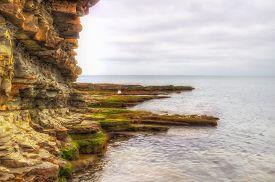 Rocky Coast  Sea Coast Sochi Krasnodar Region Russia
