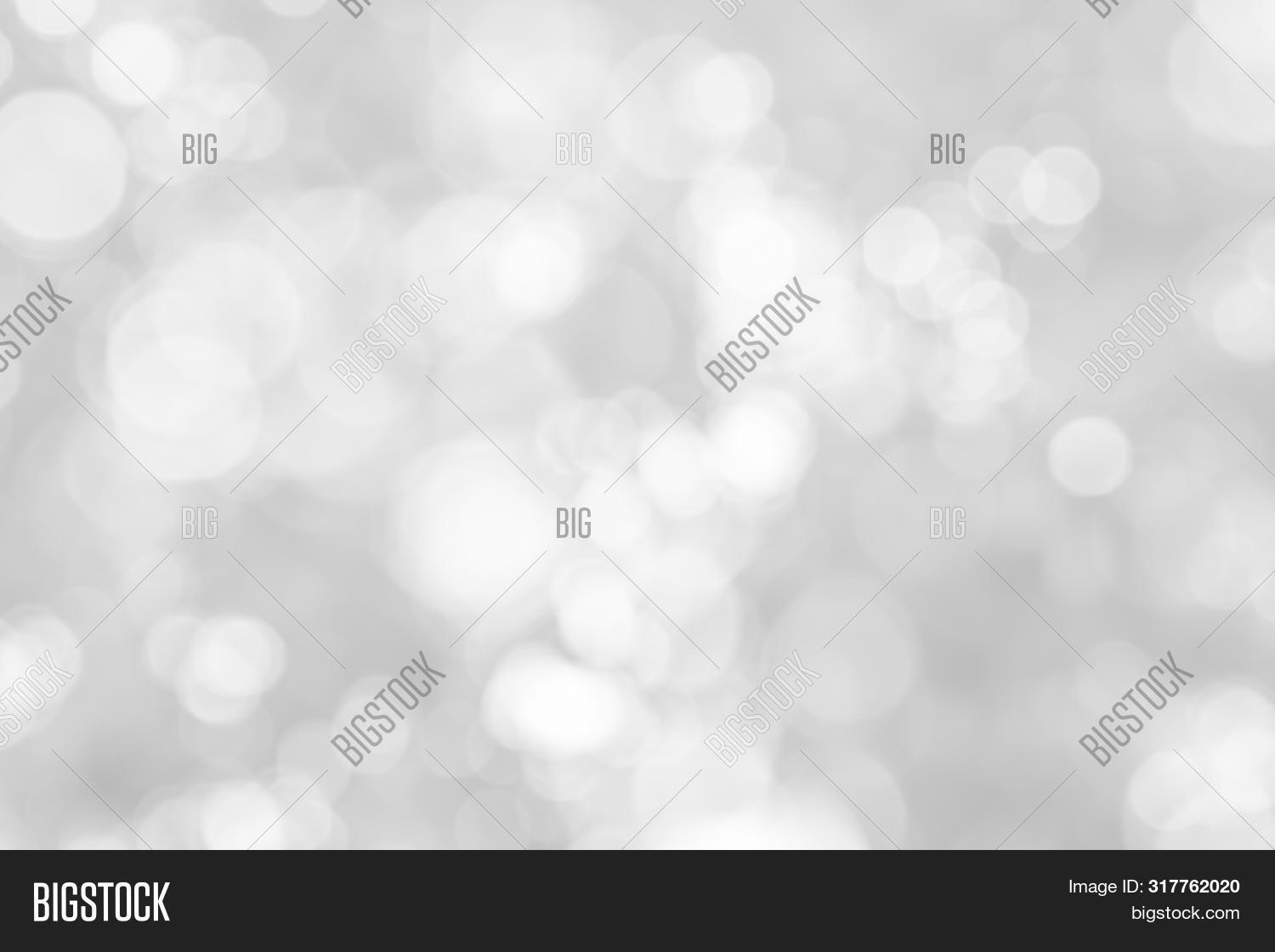 Abstract White Bokeh With Soft Blurred Background Nature Blurry Light Party. Abstract, Background, B
