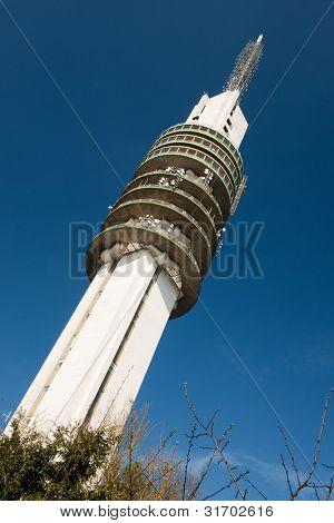 Dutch media television tower in Hilversum